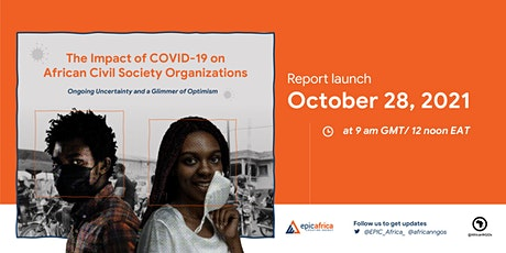 New report: The Impact of COVID-19 on African Civil Society Organizations tickets