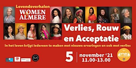 """""""Verlies, Rouw en Acceptatie"""" - Levende Verhalen van Women of Almere tickets"""
