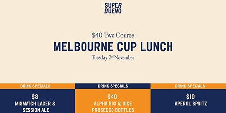 Melbourne Cup Lunch. tickets