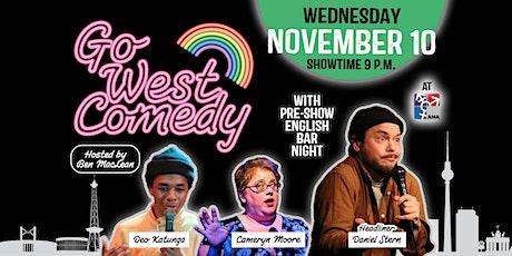 Go West Comedy Showcase with Headliner Daniel Stern tickets