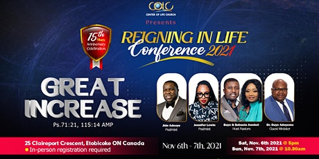 Reigning In Life Conference 2021 tickets