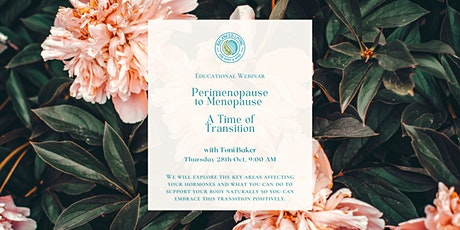 Perimenopause to Menopause – A Time of Transition tickets