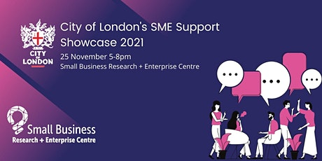 City of London's SME support showcase tickets