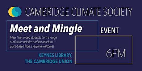 Cambridge Climate Society Meet and Mingle tickets