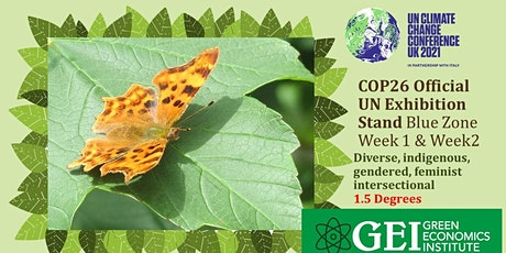 Official GEI COP26 Exhibition Stand tickets