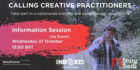 StoryFutures Academy: Creative Practitioners Information Session 1 tickets
