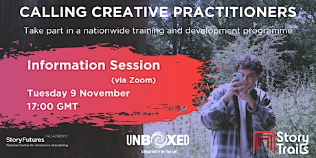 StoryFutures Academy: Creative Practitioners Information Session 2 tickets