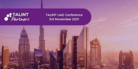 TALiNT Partners UAE tickets