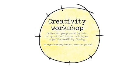 Creativity workshop tickets