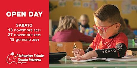 Open Day Scuola Svizzera Bergamo biglietti