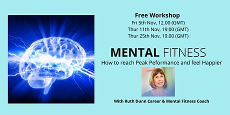 FREE Workshop: How to achieve Peak Performance and feel Happier at work tickets