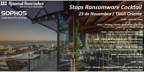 Ajoomal & Sophos Stops Ransomware Cocktail tickets