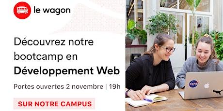 Le Wagon vous ouvre ses portes : Spécial Bootcamp en développement web tickets