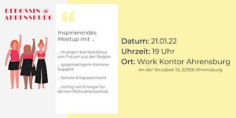 BeBossin.meetup: mutige Karrierestorys und gegenseitiger Karriere-Support Tickets