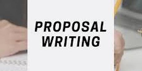 Introduction to proposal writing  أساسيات كتابة البربوزل الأكاديمي tickets