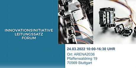Innovationsinitiative Leitungssatz Forum Tickets