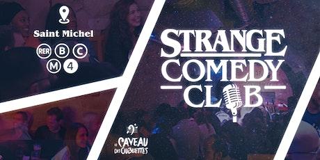 Strange Comedy Club - #97 billets