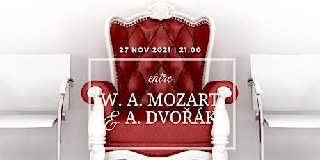 O Palácio dos Biscainhos apresenta… entre  W. A. Mozart e A. Dvorak bilhetes