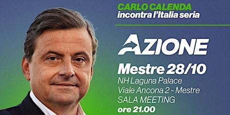 Carlo Calenda a Mestre biglietti