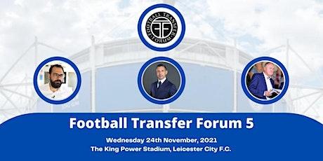 Football Transfer Forum - Winter 2021 tickets