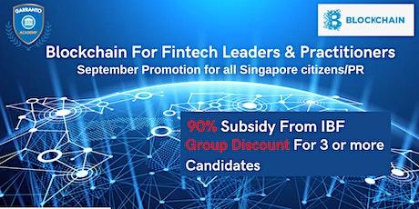 Blockchain For Fintech Leaders & Practitioners course! entradas