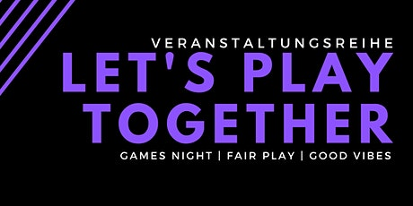 Let's Play Together! Tickets