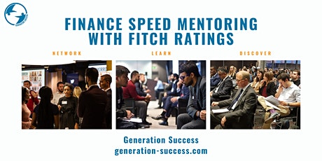 Finance - Speed mentoring event with Fitch Ratings tickets