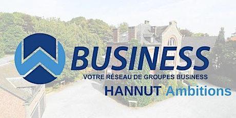 Réunion(s) du Groupe WBusiness Hannut Ambitions - Novembre 2021 billets