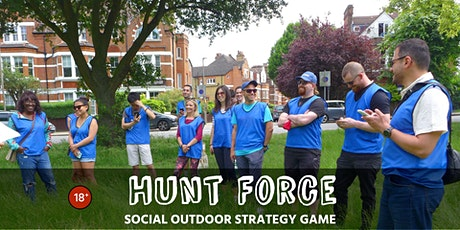 Escape the hunters and tag locations (Social outdoor game) tickets
