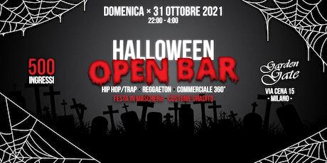 Halloween Open Bar Milano biglietti