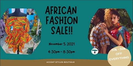 Afro Fashion Sale tickets