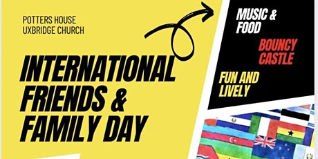 International friends &  family fun day- bouncy castle- live music- food tickets