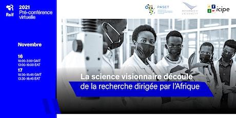 Pré-conférence virtuelle du RSIF, du 16 au 17 novembre 2021 tickets