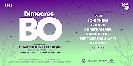 Dimecres Bo '21 tickets