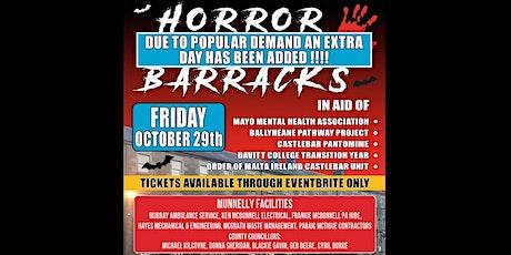 Horror in the Barracks tickets
