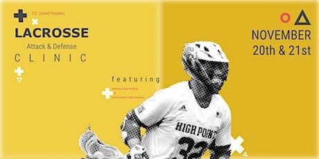 Attack & Defense Lacrosse Clinic tickets