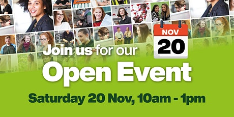Wakefield College Open Event - Wakefield City Campus tickets