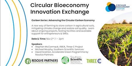 Circular Bioeconomy Innovation Exhange: Carbon Series tickets