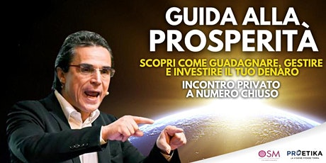 Paolo Ruggeri - Guida alla prosperità biglietti