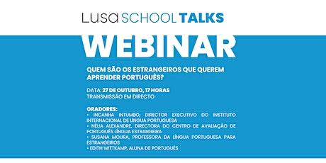 Quem são os estrangeiros que querem aprender português? ingressos