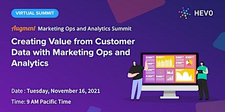 Augment - Marketing Ops and Analytics Summit entradas