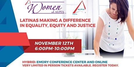 """Women of ALPFA Atlanta 2021  """"Equality, Equity and Justice"""" tickets"""