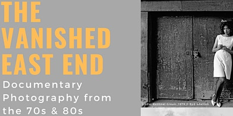 The Vanished East End- A Guided Tour tickets