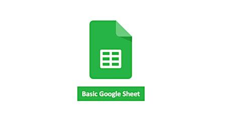 Google - Basic Google Sheet Tickets