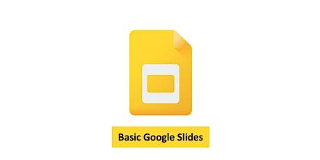 Google - Basic Google Slides Tickets