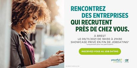 Job Dating à Brest : décrochez un emploi ! billets