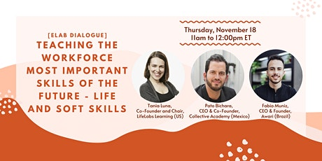 Teaching the Most Important Skills of the Future - Life & Soft Skills tickets