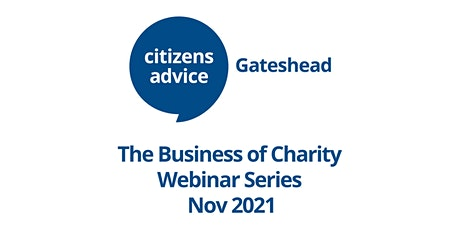 The Business of Charity Webinar 2: Social value brings economic gain. tickets