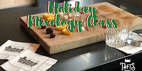 Holiday Mixology Class tickets