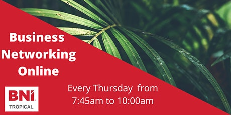 Online Networking Meeting Every Thursday tickets